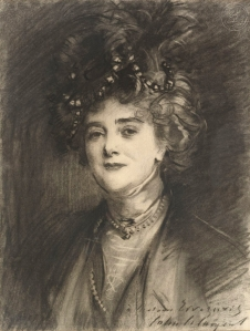 Portrait of Eugenia Errázuriz by John Singer Sargent