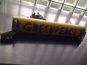 An example of a previous lock on that was fabricated by Greenpeace