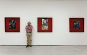 Portrait of US artist Larry Bell at his exhibition space at White Cube in Central.  [SCMP POST MAGAZINE FEATURE]